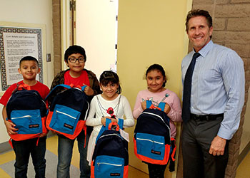 KINF Backpack Give Away